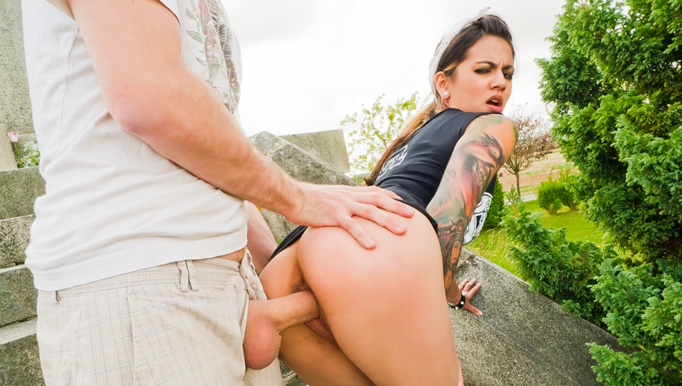 Fuck This National Monument - James Deen & Holly D