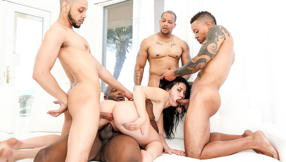 Blacked Out #10 - Nat Turnher & Dirk Huge & Mandy Muse