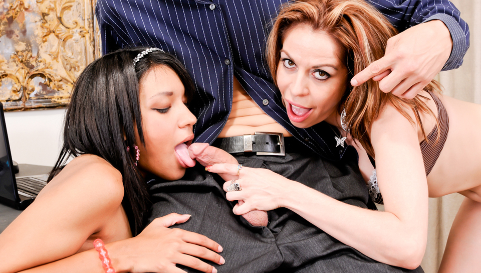 Mothers Teaching Daughters How To Suck Cock #10