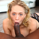 Kagney sticks Prince down her throat as far as she can!