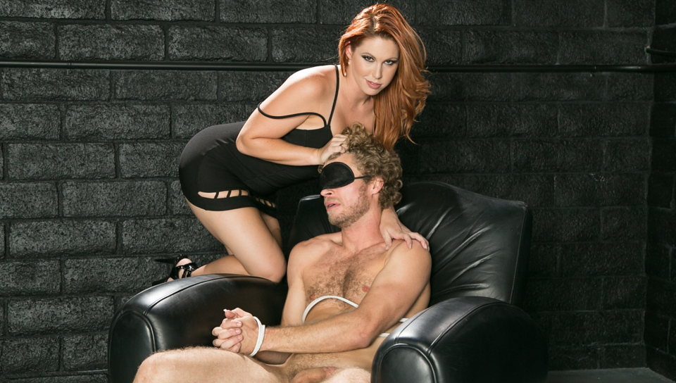 Cheating Michael Vegas obeys  fucks redheaded Edyn Blair.