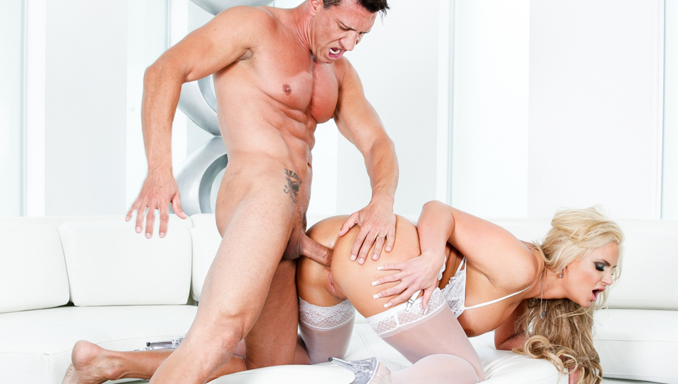 Phoenix Marie loves to have her ass stretched by a big cock.
