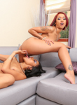 The seduction of skin diamond. Skin Diamond & Yasmine de Leon fuck for stress relief.. Skin Diamond,Yasmine de Leon. Pornstar,Ebony,Lesbian,Tattoo/Piercing,Cunilingus,HD Movies