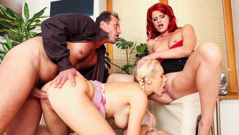 George Uhl & Rossa J'Honson & Welly - Mom And Dad Are Fucking My Friends Vol 05