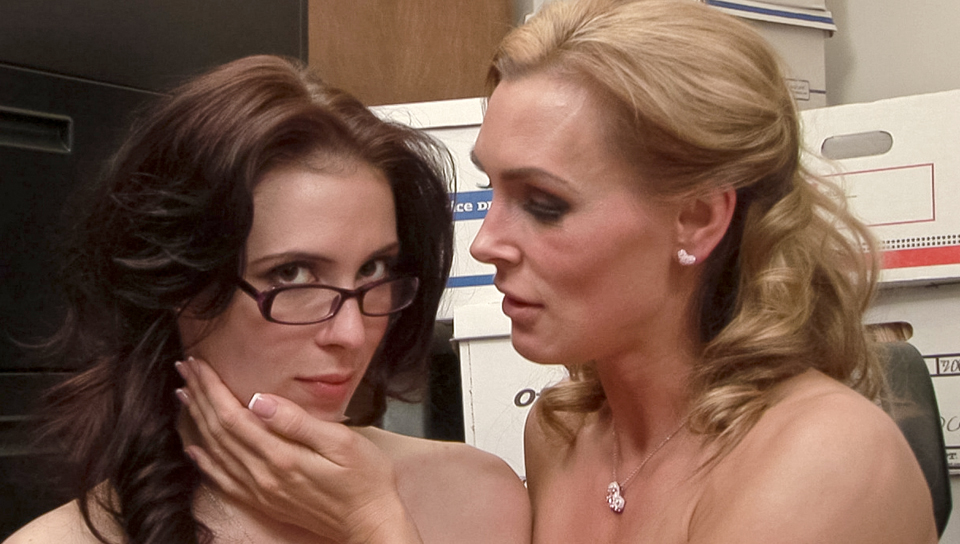 Tanya Tate & Aiden Ashley - BTS-Lesbian Office Seductions #05