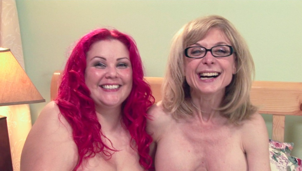 Nina Hartley & April Flores - BTS-Lesbian Truth Or Dare #05