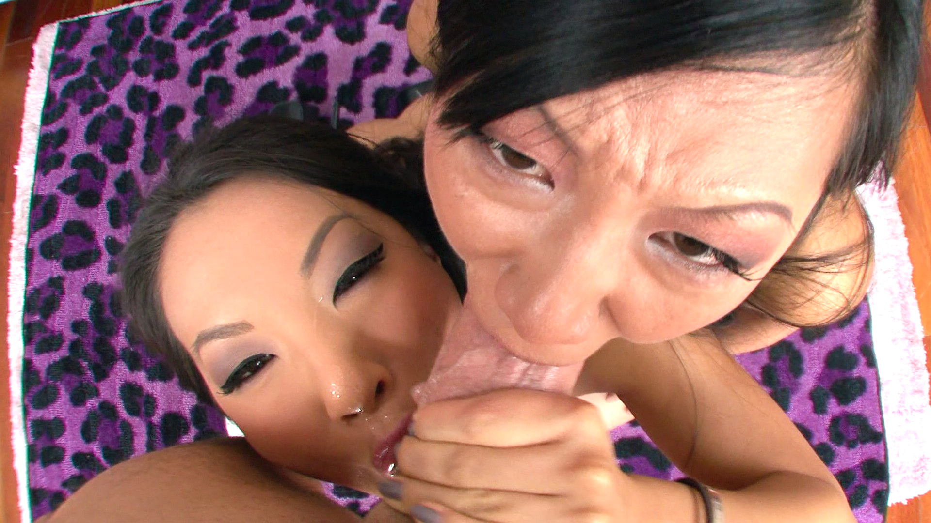 Tia Ling, Asa Akira porn stars video from Mike Adriano