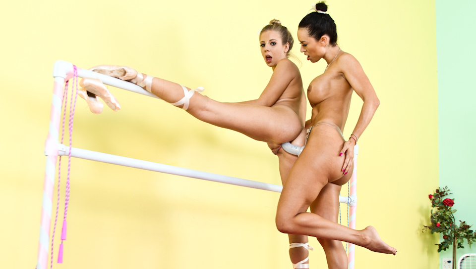 Chastity Lynn, Franceska Jaimes anal sex video from Anal Acrobats