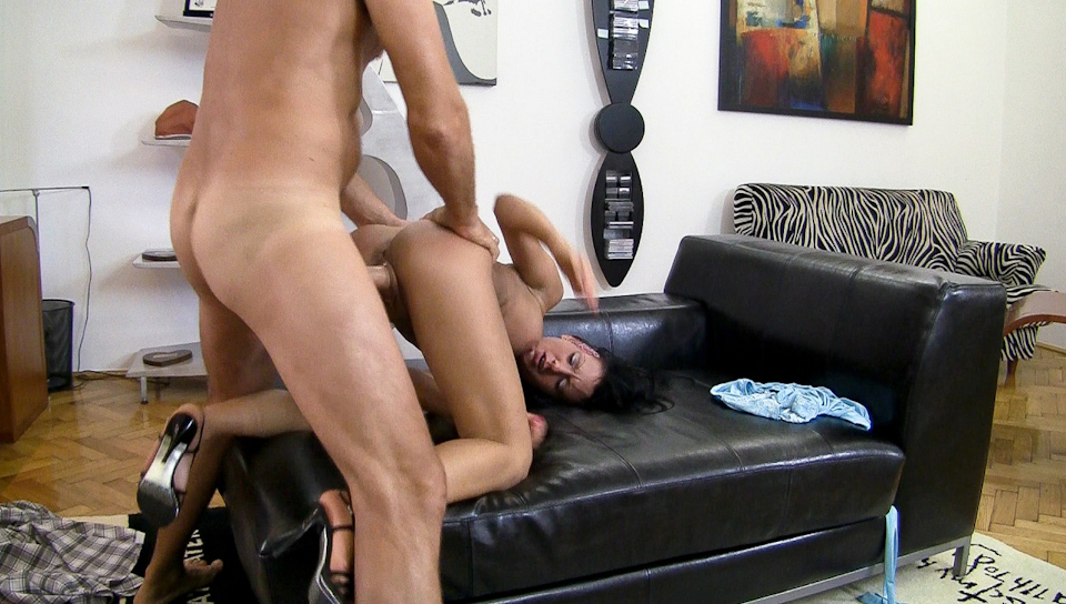 A naughty bad girl is getting hardly shagged with Rocco's HD