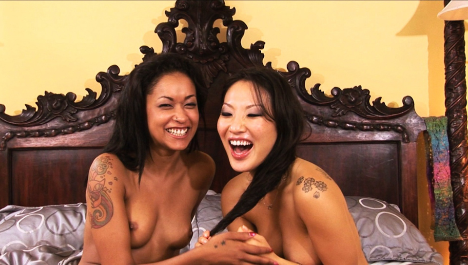 Asa Akira & Skin Diamond - BTS-Girls Kissing Girls Volume Nine