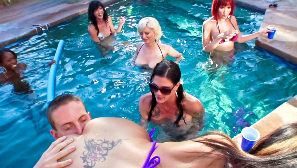 Bonus look at horny tranny's cocks getting sucked underwater