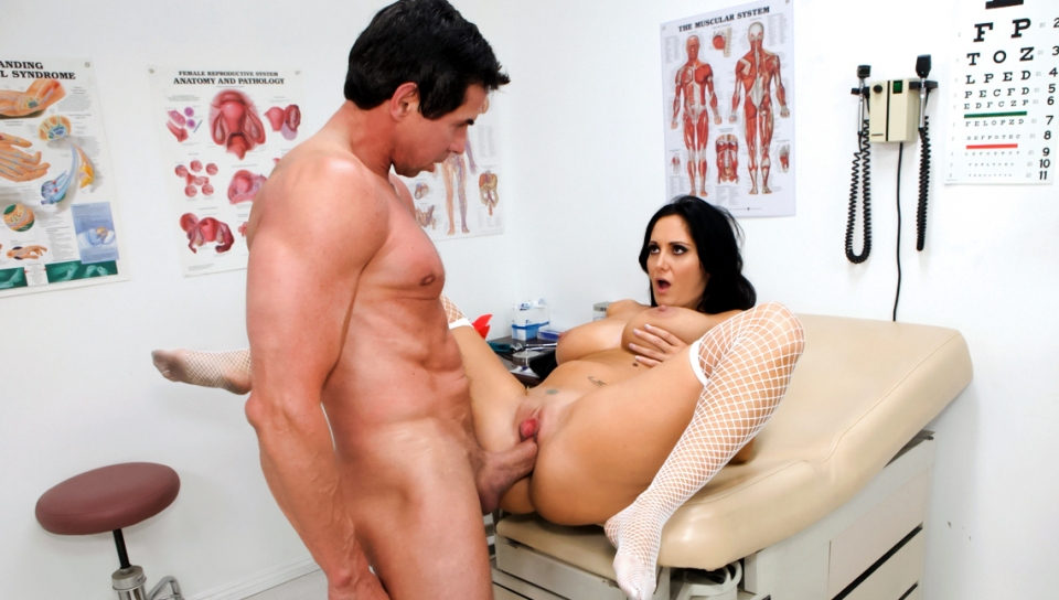 Peter North's Cock Is The Best Remedy For This Nurse's Pussy