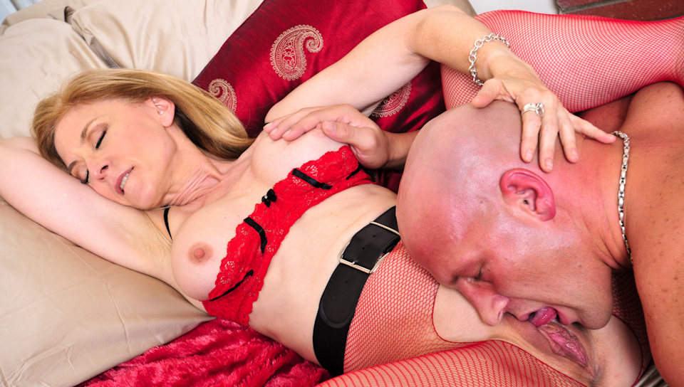 Nina hartley and anthony rosano have a damn fine time 9
