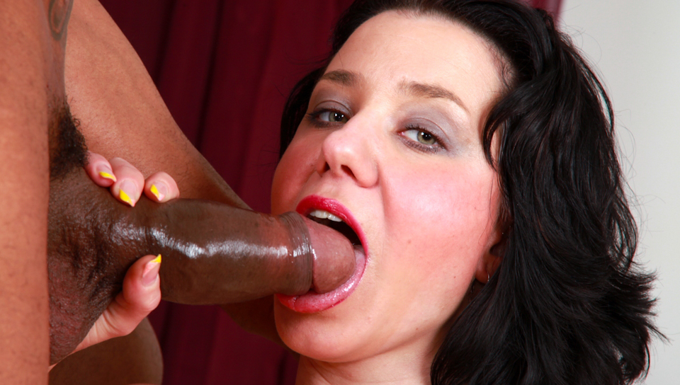 Watch this horny hot girl fucking with a big black dong !
