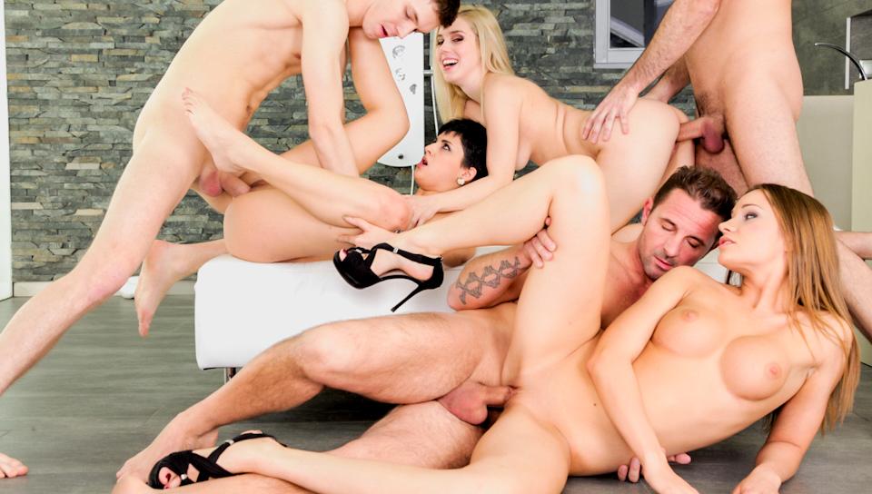 Swinger orgy tube